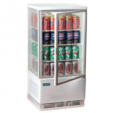 expositor vertical refrigerador